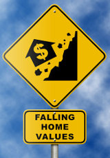 Home prices decline
